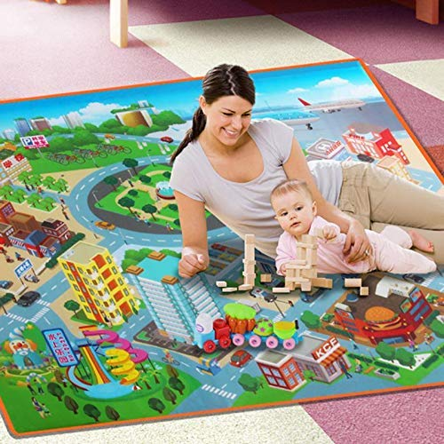 Baby Gyms Playmats Portable Kids Play Mat Fold Able Bpa Free Non Toxic 48 X 36 Extra Large Foam Crawling Toddlers Waterproof